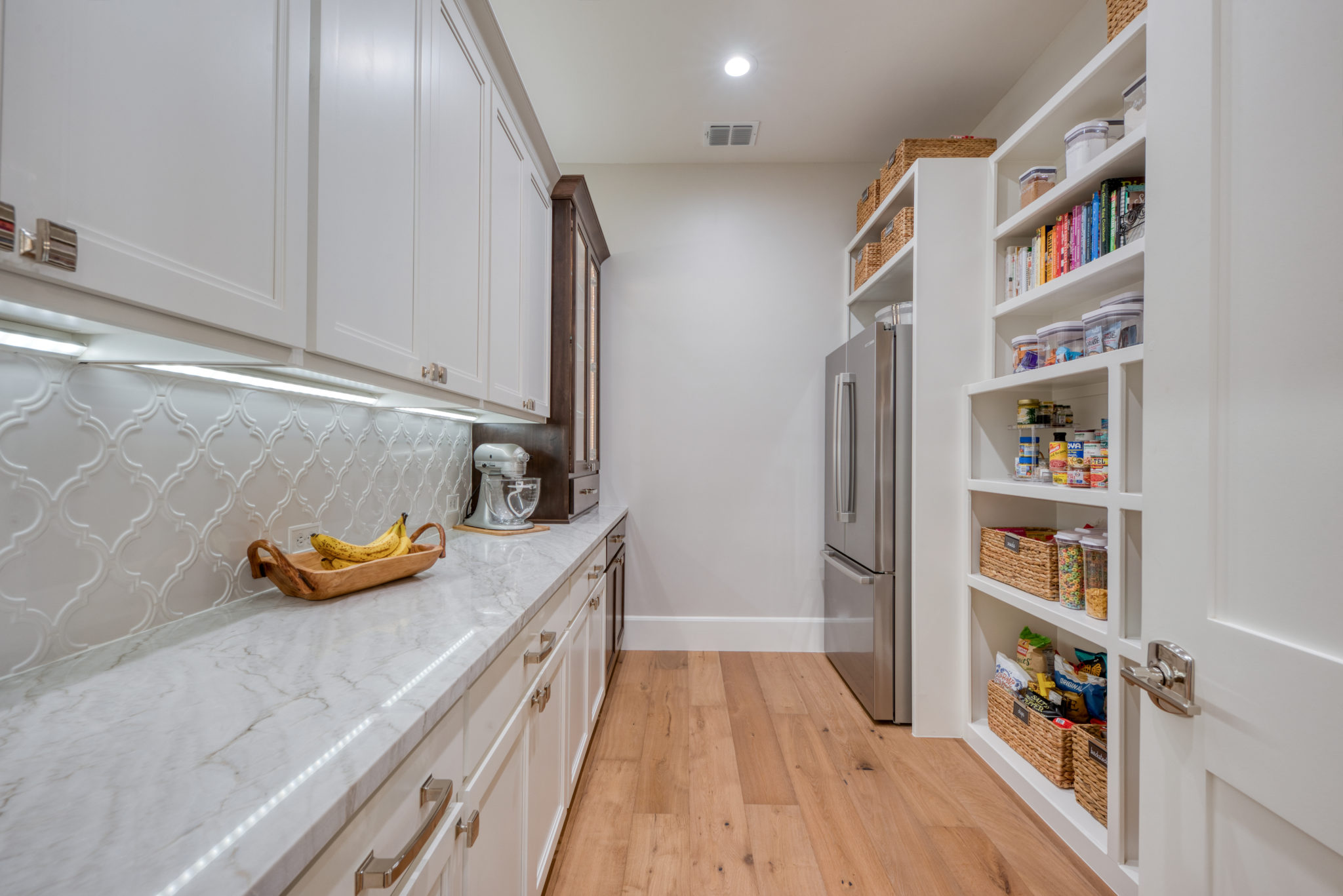 Luxury Home Kitchen Pantry South Central TX G. Morris Homes